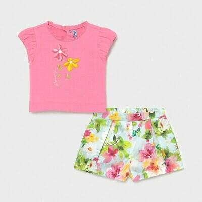 Floral Shorts Set 1234