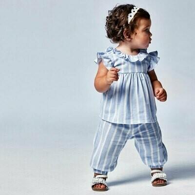 Striped Linen Pants 1578