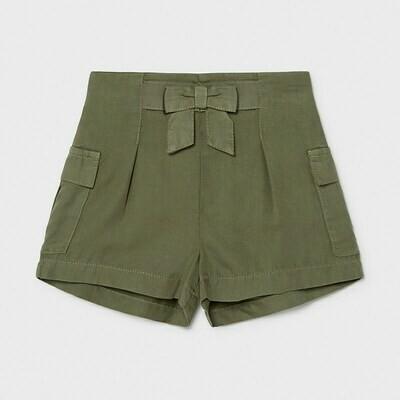 Moss Green Loose Shorts 1226