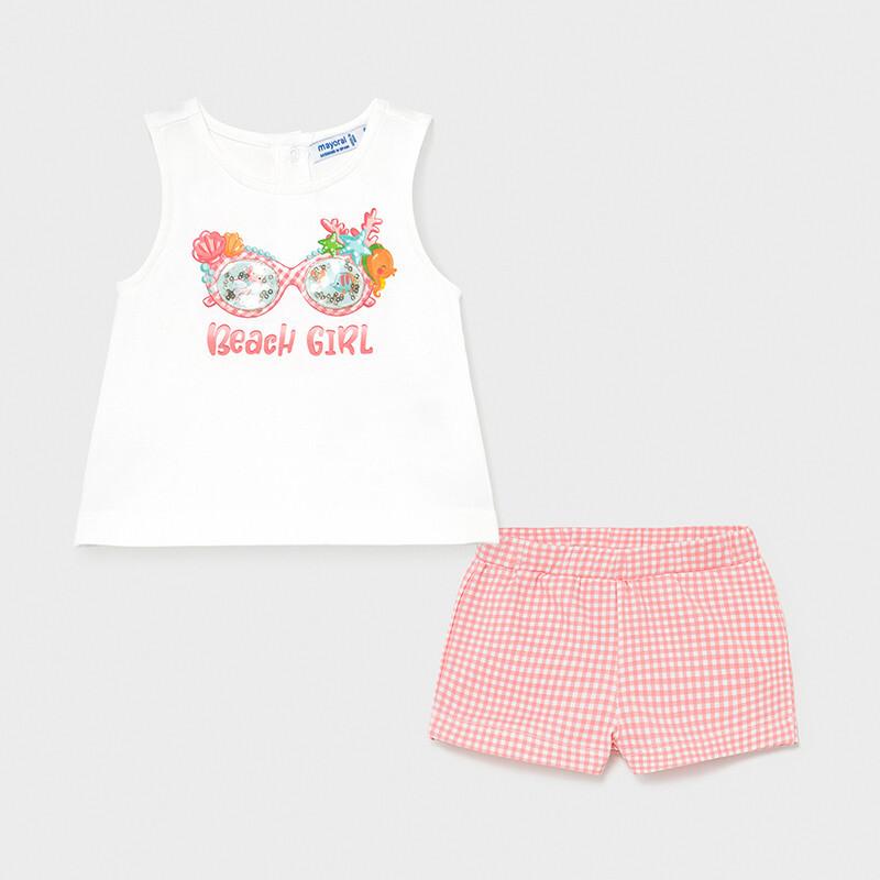 Beach Girl Shorts Set 1231