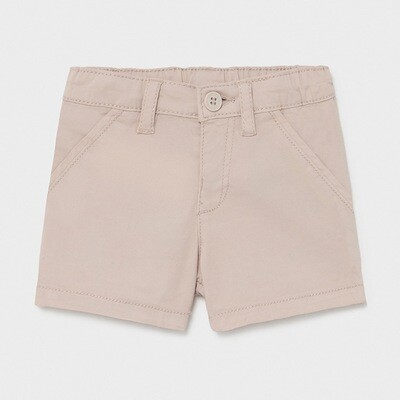 Tan Twill Shorts 201