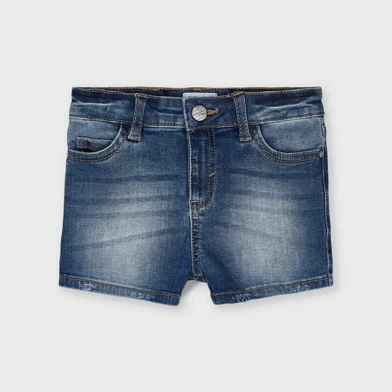 Basic Denim Shorts 236