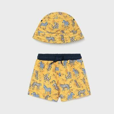 Yellow Swimwear Set 1666