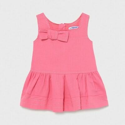 Pink Linen Dress 1972
