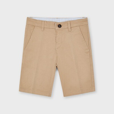 Tan Basic Chino Shorts 202