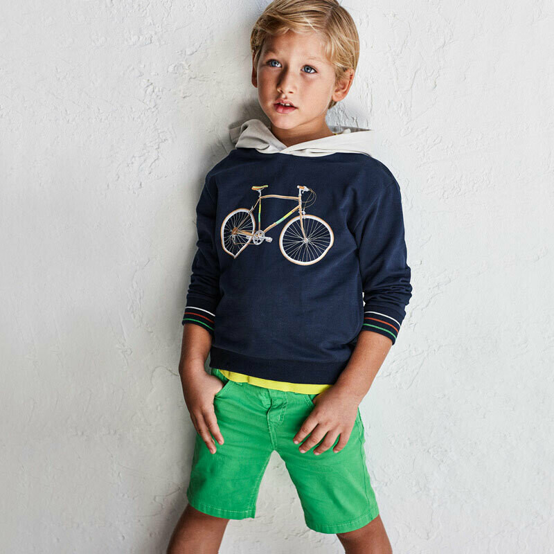 Green Twill Shorts 204