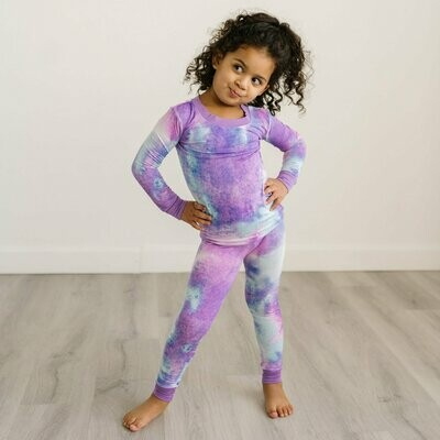 Purple Watercolor PJ Set