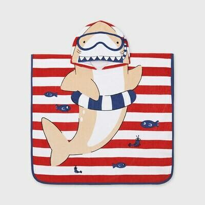 Hooded Shark Towel 9926