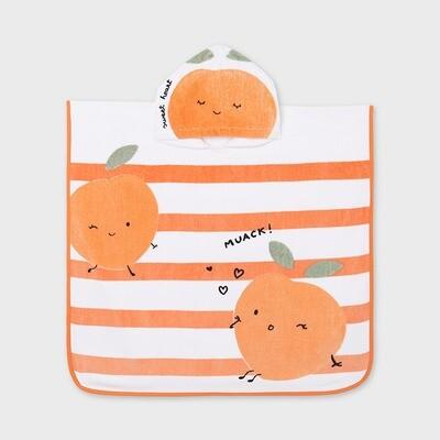 Peachy Hooded Towel 9926