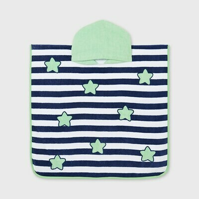 Stars & Stripes Hooded Towel 9917