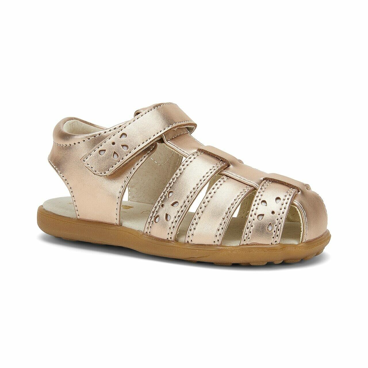 Gloria Rose Gold Sandals