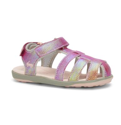 Paley Hot Pink Shimmer Sandal