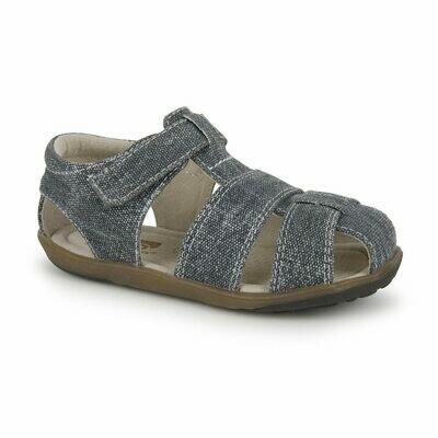Jude Gray Canvas Sandals