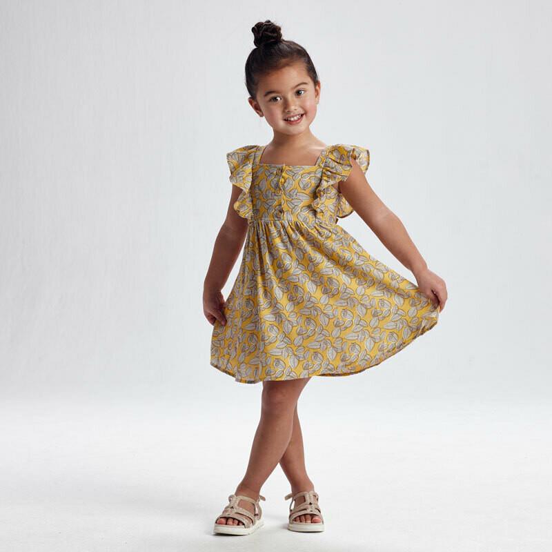 Leaf Print Dress 3934