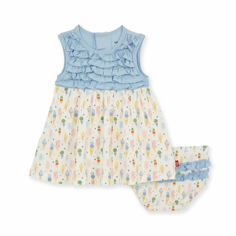 Ice Ice Cream Baby Dress Set