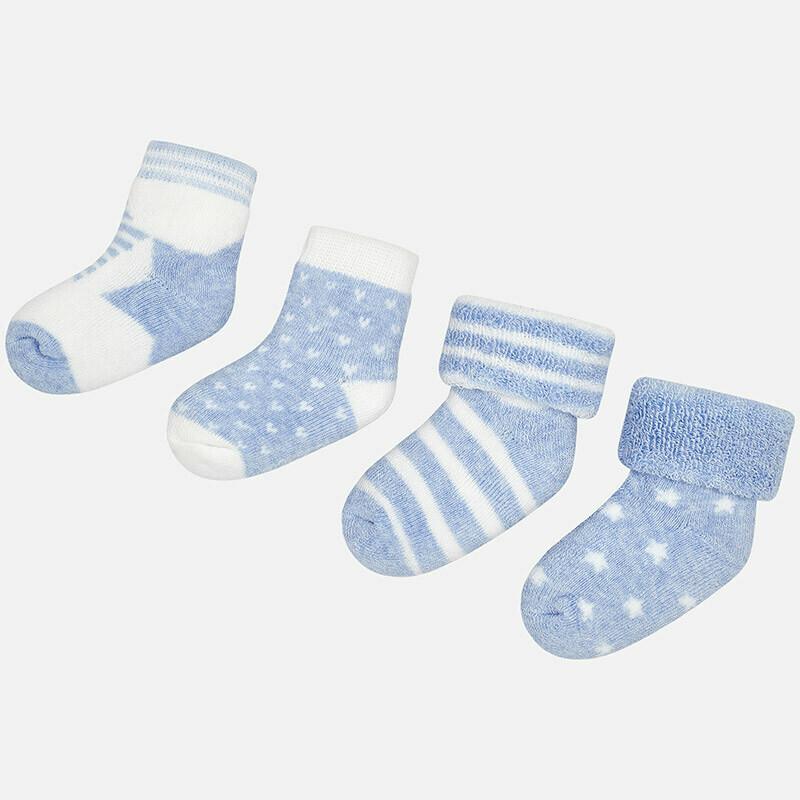 4pk Sock Set 9892 6m