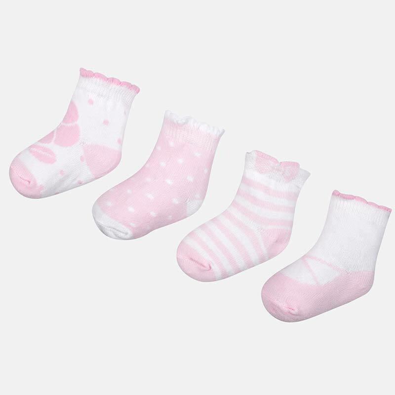 Rosa Baby Socks Set 9078R 12m