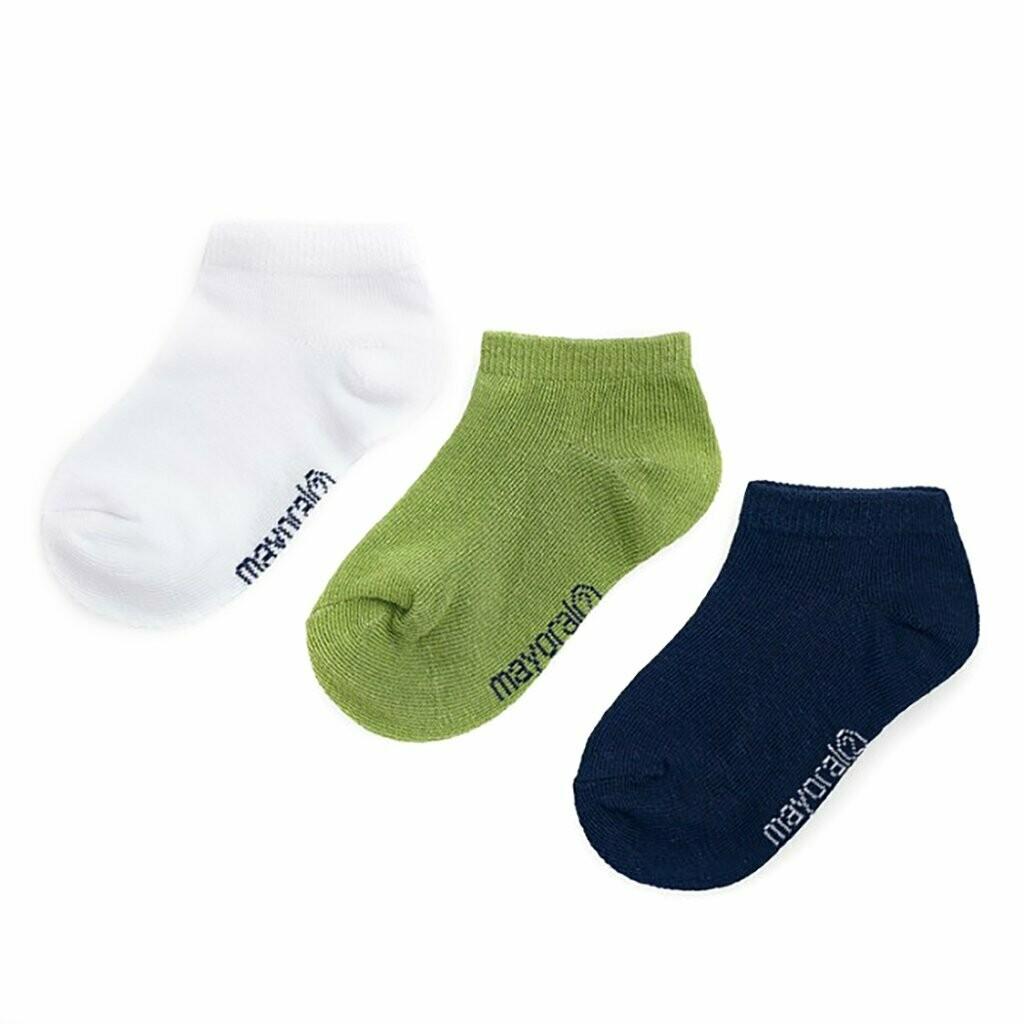 Green Short Sock 10784-2