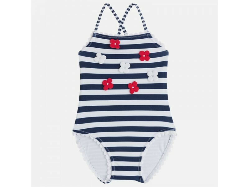 Striped Swimsuit 3734 - 4