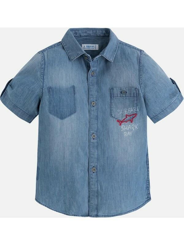 Denim Shirt 3160-7