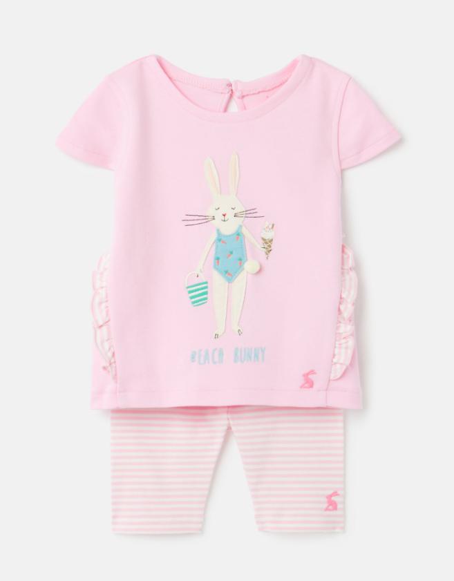 Paula Beach Bunny Capri Set