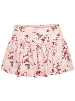 Floral Print Skirt 4900-5