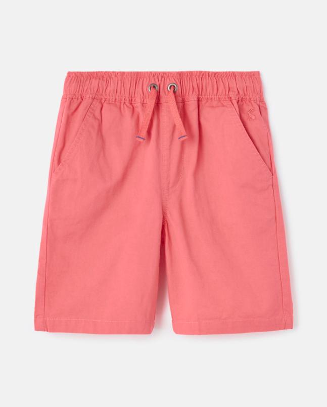 Huey Woven Shorts - Pink Coral