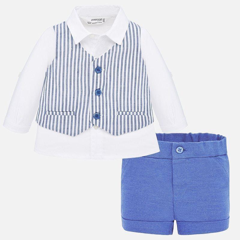 Formal Wear Shorts Set 1269 6/9m