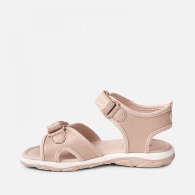 Pink Glittery Sandals - 43065 10