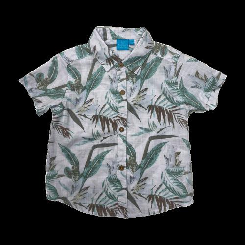 Rocco Nature Print Woven Shirt