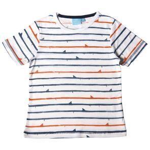 Shark Fin Stripe Shirt