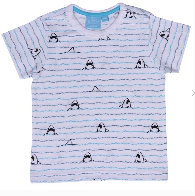 Shark Bite Wave Shirt