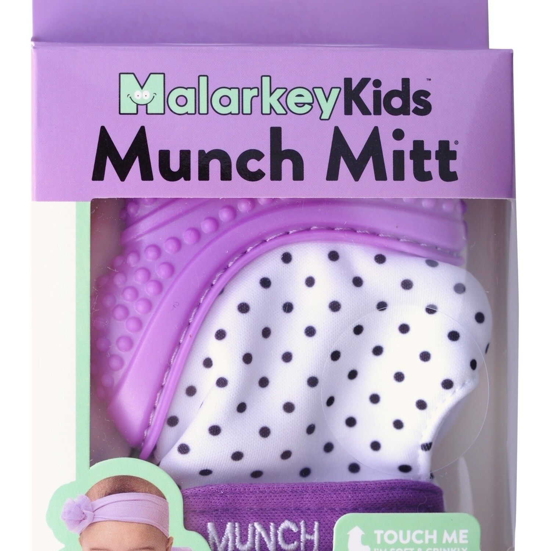 Munch Mitt Purple Shimmer