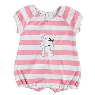 Striped Bunny Onesie 1617