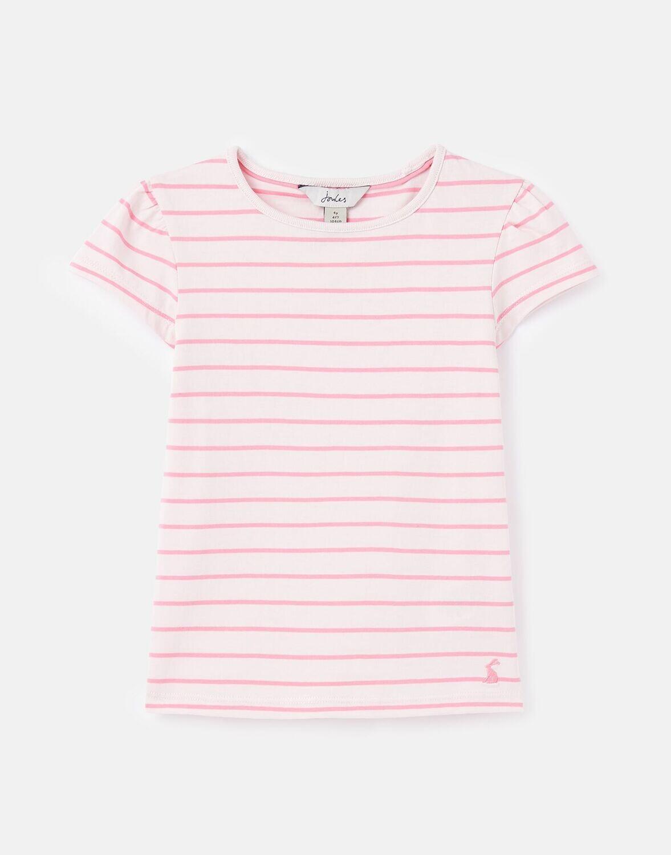 Flutter Pink Stripe Shirt