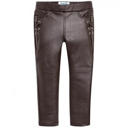 Leatherette Pants 4544-2
