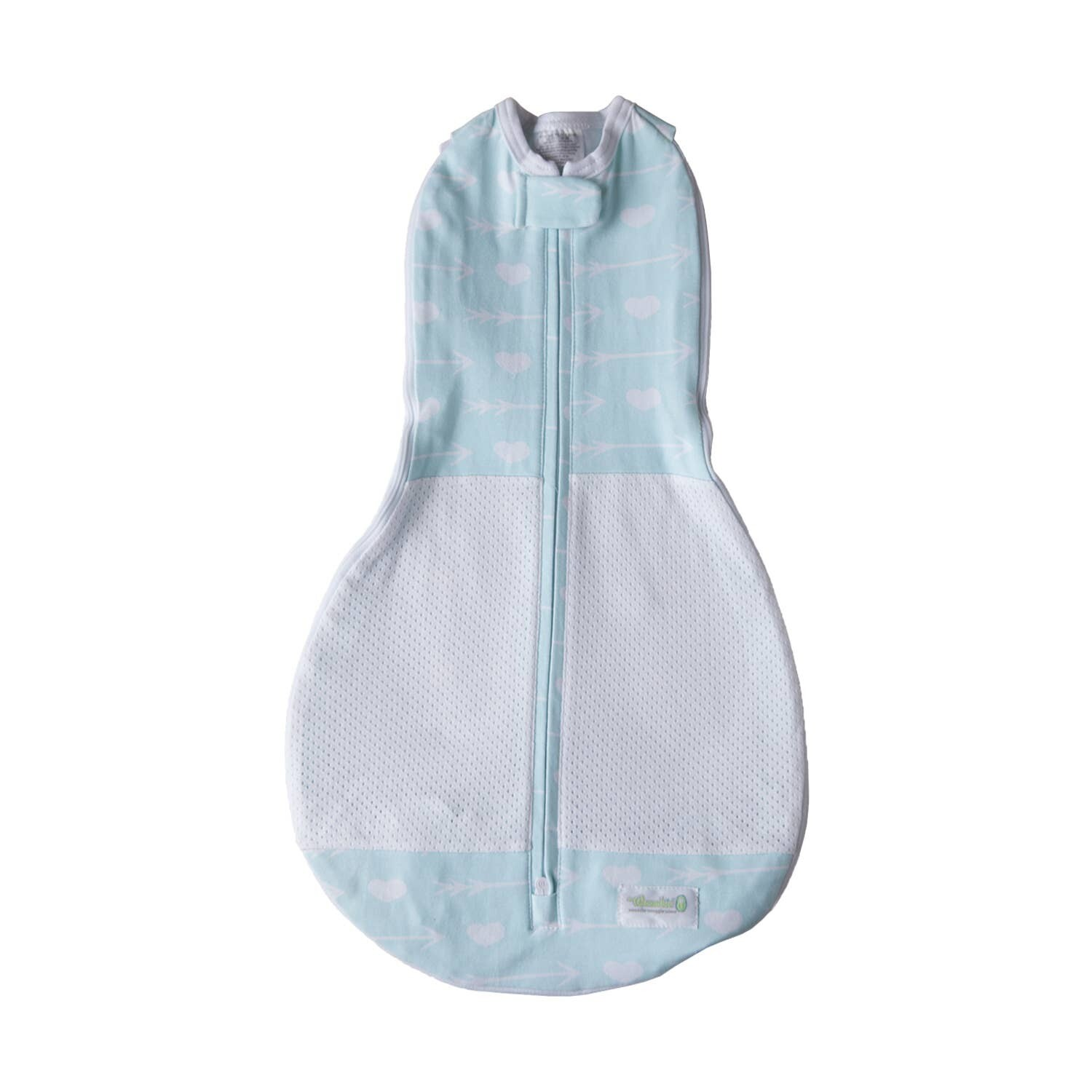 Grow With Me Air Swaddle - Mint Arrows