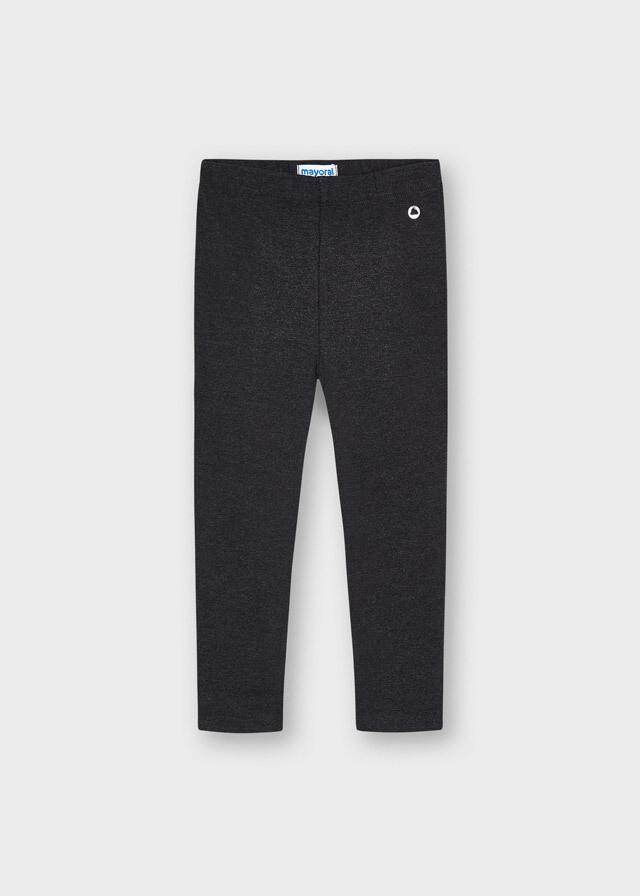 Basic Leggings 717 - Charcoal
