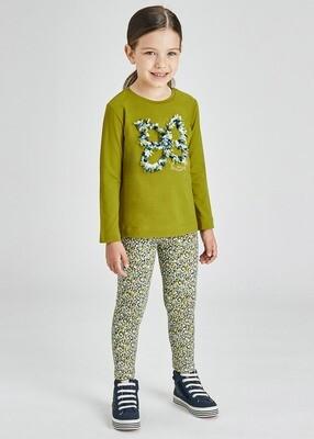 Green Butterfly Shirt 4013