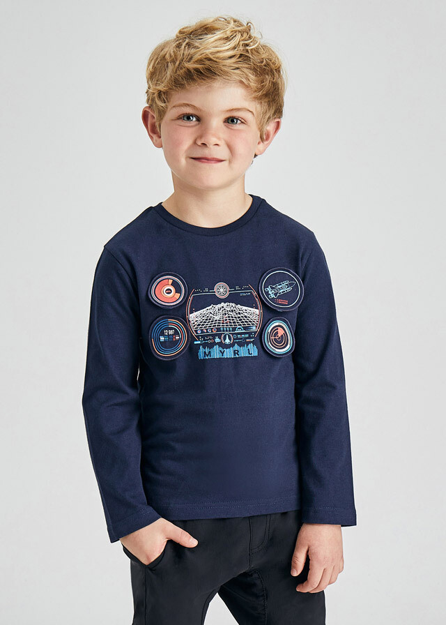 """Spaceship """"PLAY WITH"""" Shirt 4090"""