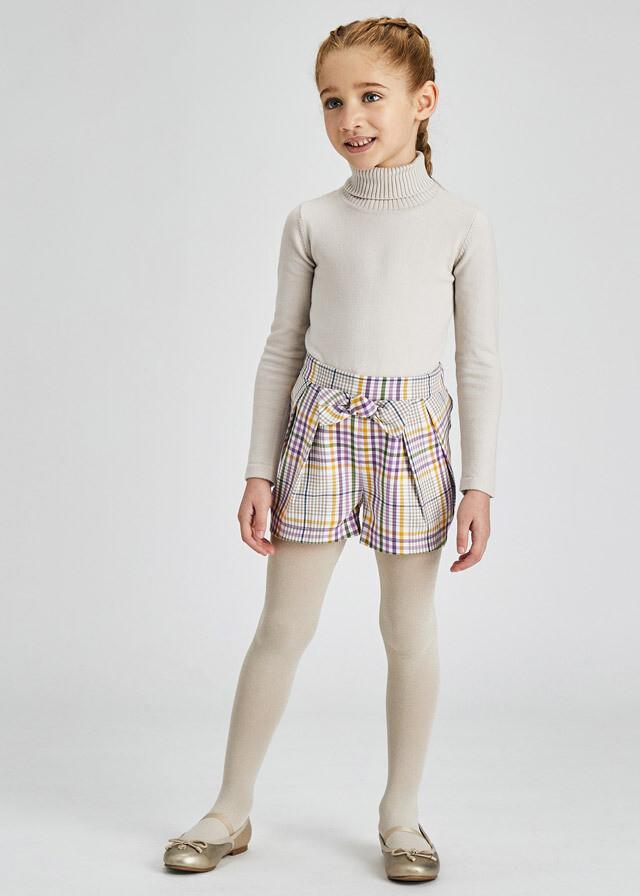 Lilac Plaid Shorts 4209