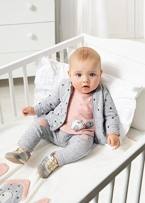 Gray 3pc Tracksuit 2671