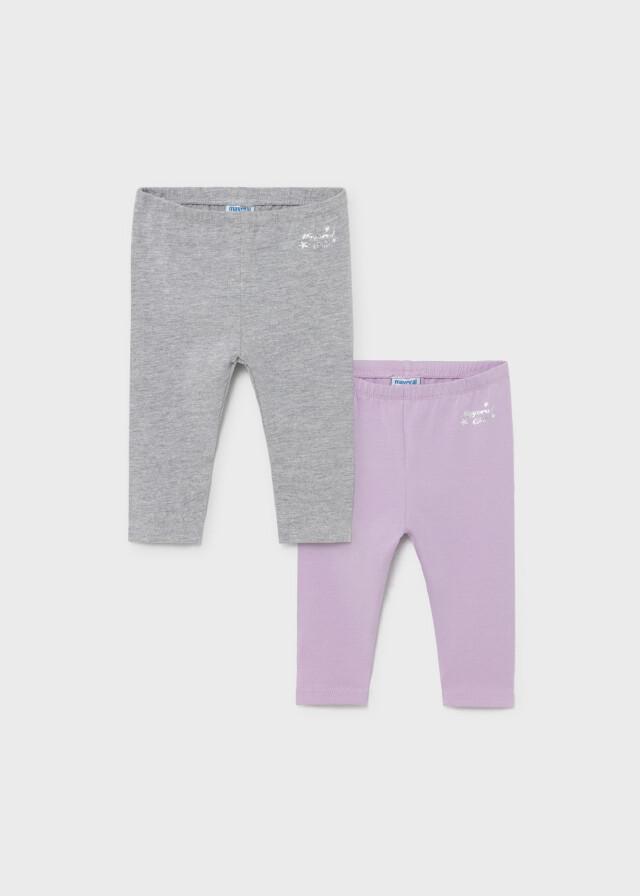 Lilac/Grey Leggings Set 702