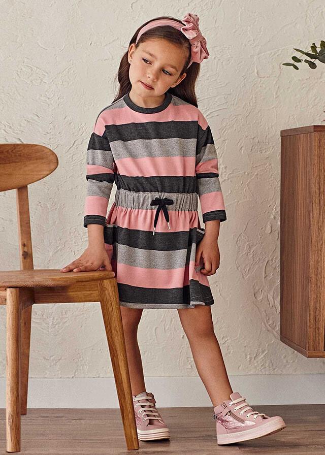 Knit Stripes Dress 4939