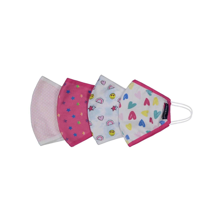Pink Kids Face Masks