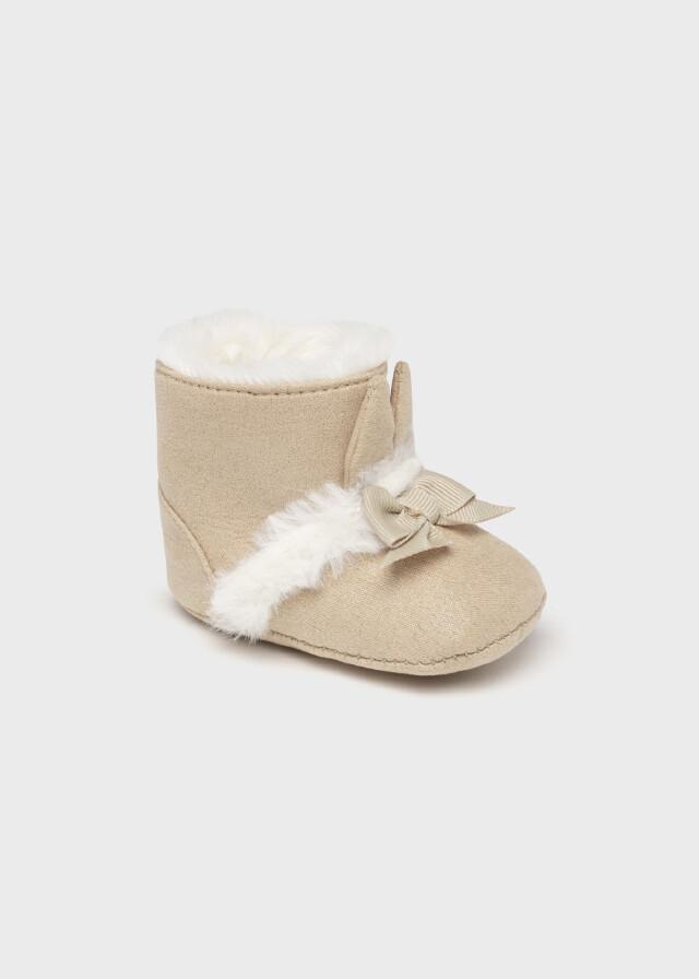 Faux Fur Boots 9459