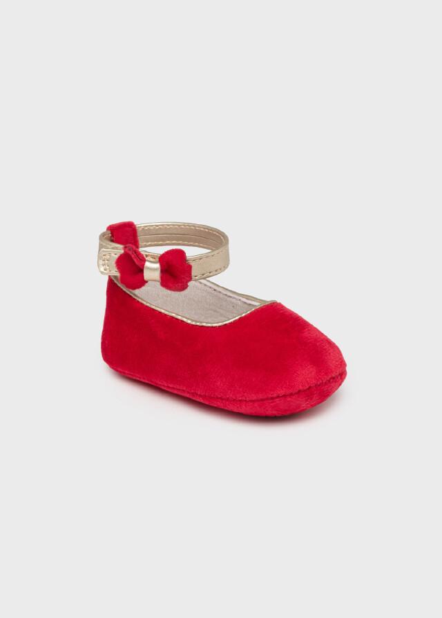 Red Velvet Shoes 9457