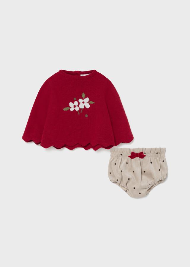 Sweater Bloomer Set 2224