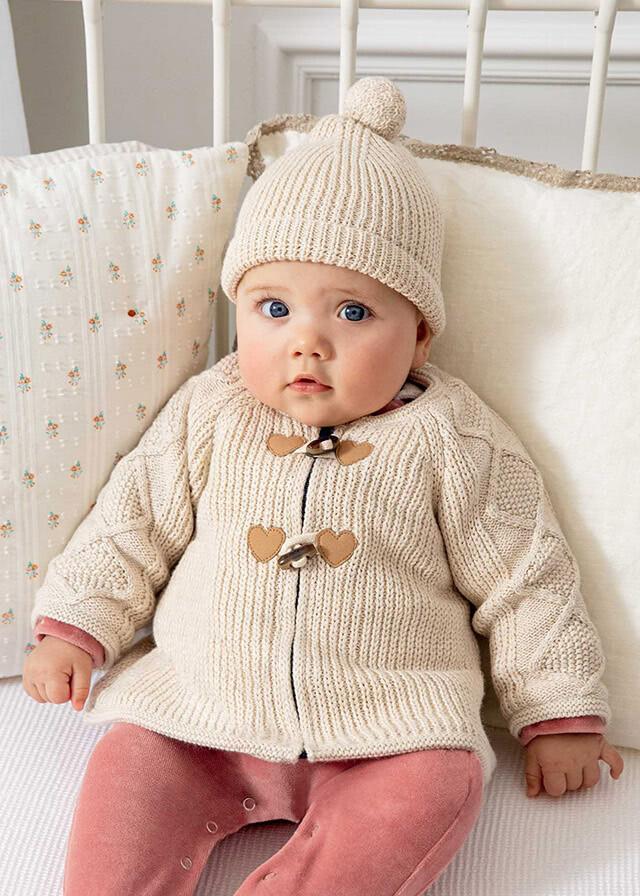 Knit Jacket & Hat 2365