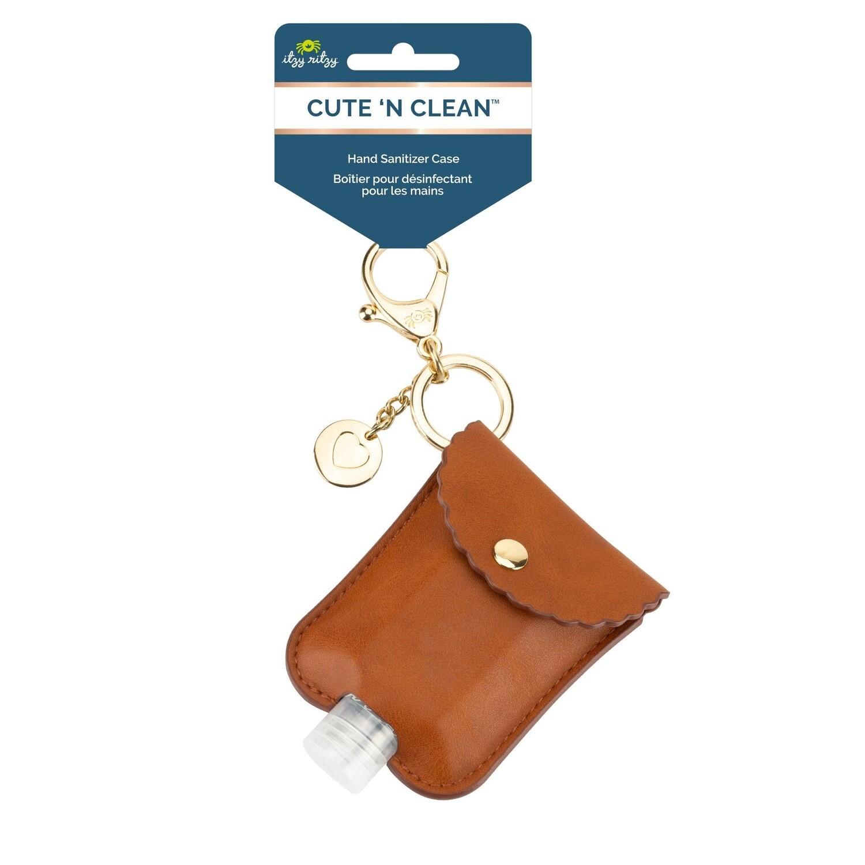 Cognac Hand Sanitizer Keychain